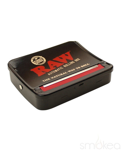 Raw 79mm Adjustable Automatic Rolling Box - SMOKEA