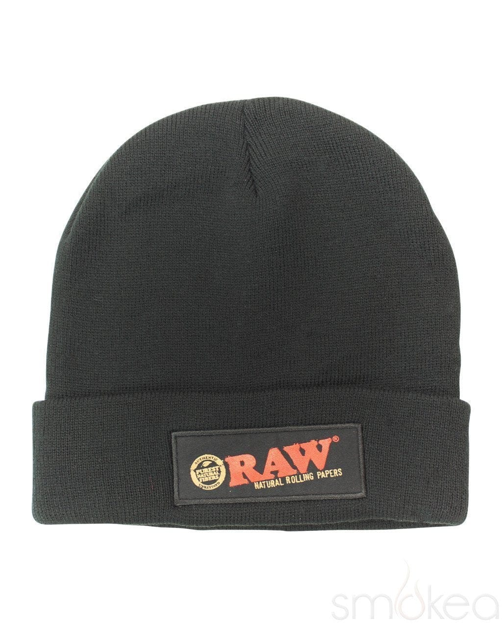 Raw Black Beanie - SMOKEA®
