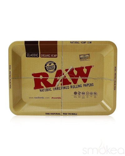Raw Mini Metal Rolling Tray - SMOKEA