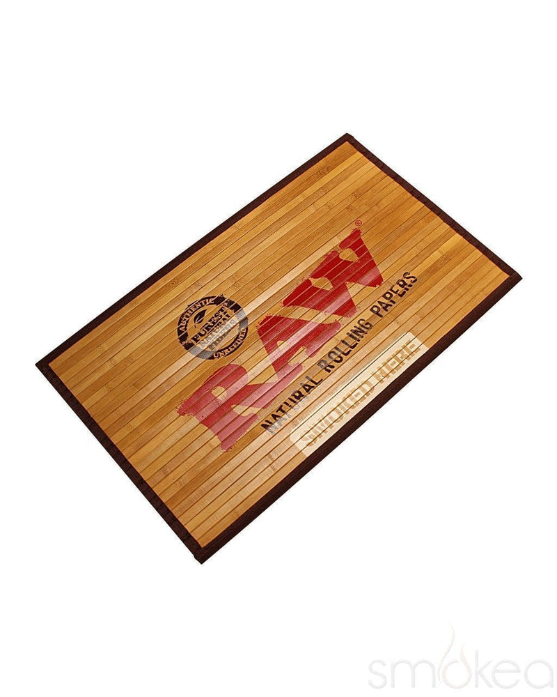 Raw Natural Bamboo Door Mat - SMOKEA®