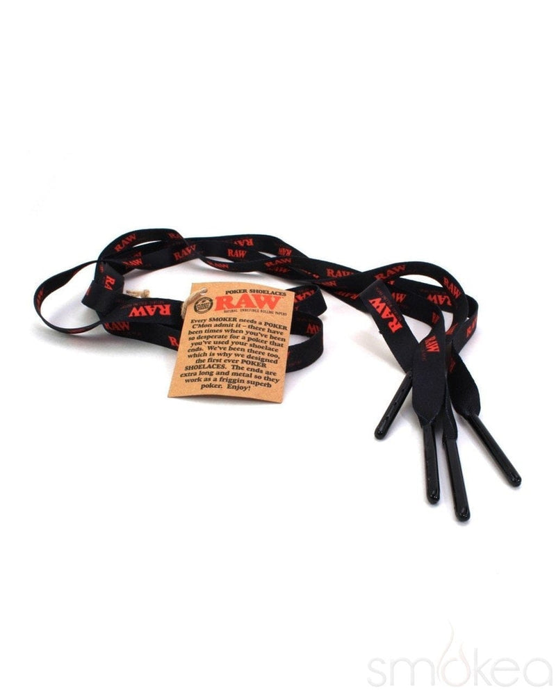 Raw Poker Shoelaces - SMOKEA