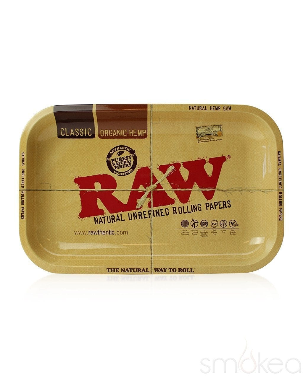 Raw Small Metal Rolling Tray - SMOKEA®