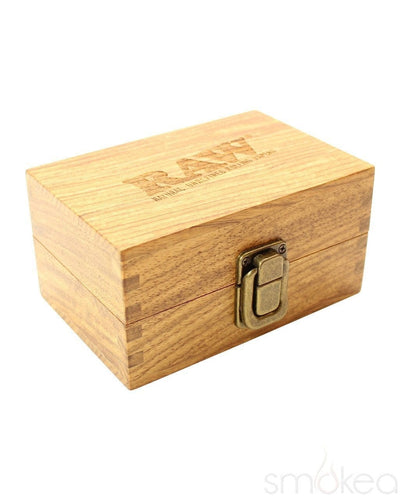 Raw Wood Storage Box - SMOKEA