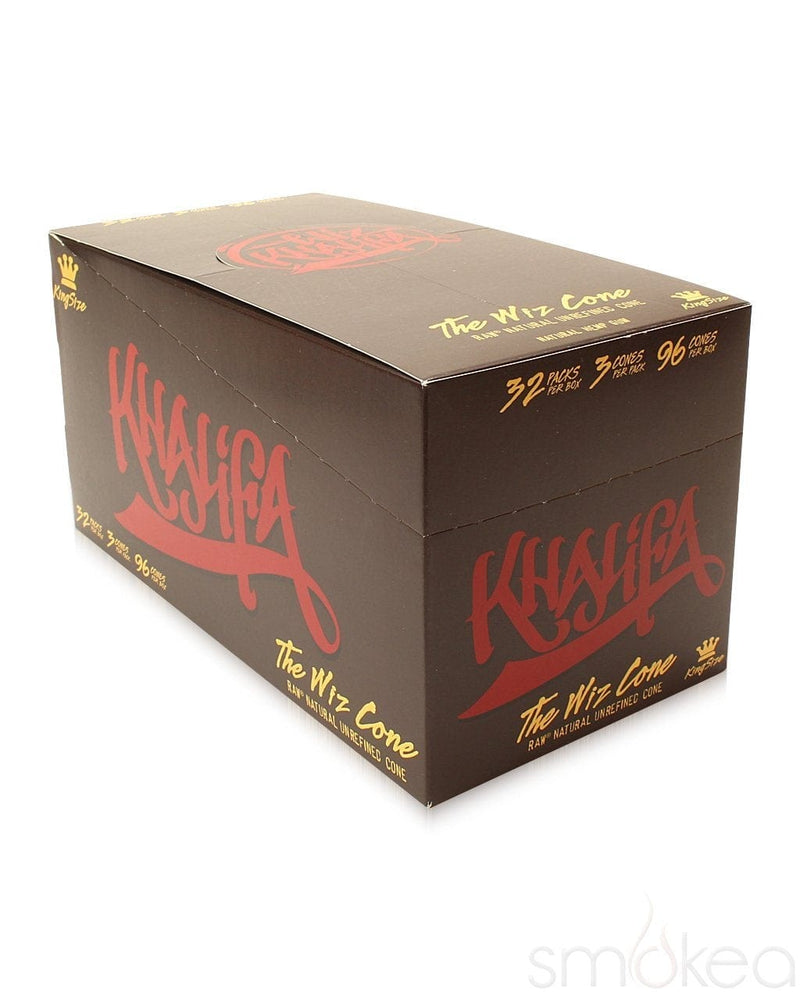 Raw x Wiz Khalifa King Size Pre-Rolled Cones (3-Pack) - SMOKEA®
