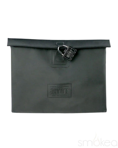 RYOT Large Flat Pack Smell Proof Storage Bag - SMOKEA