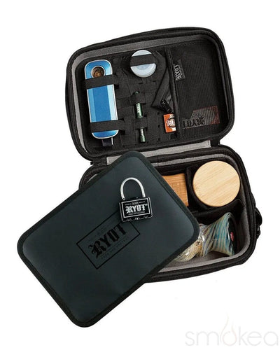RYOT Large Safe Case Carbon Series Pipe Case - SMOKEA