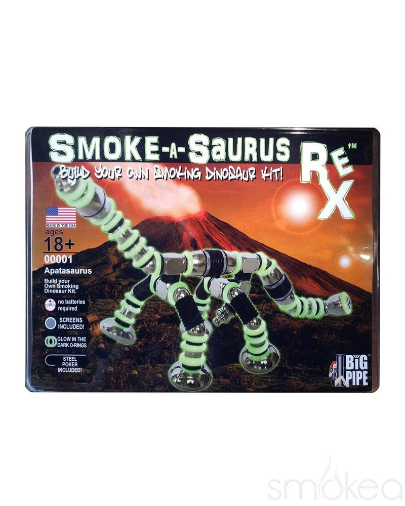 Smoke A Saurus Rex Metal Pipe Super Kit - SMOKEA®
