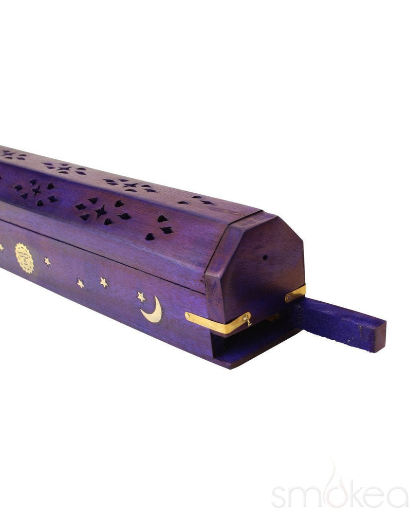 SMOKEA Celestial Coffin Wood Incense Burner - SMOKEA