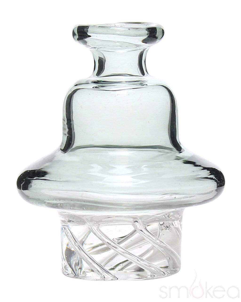 SMOKEA Colored Spinning Quartz Carb Cap Smoke