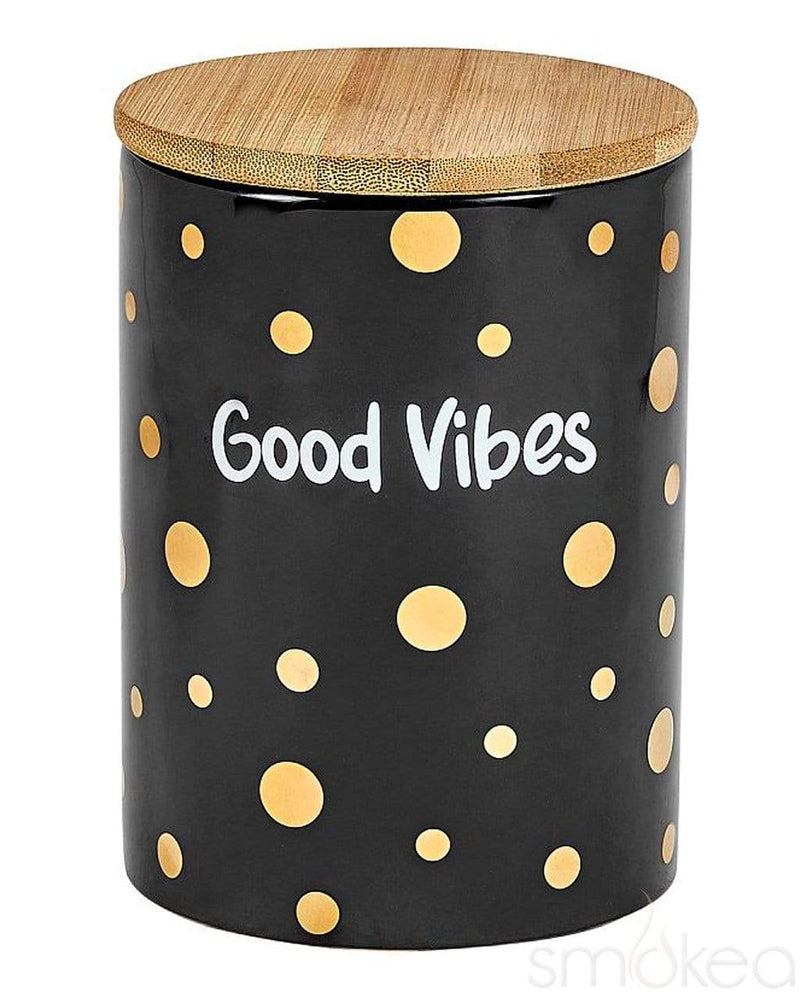 "SMOKEA ""Good Vibes"" Luxury Stash Jar - SMOKEA®"