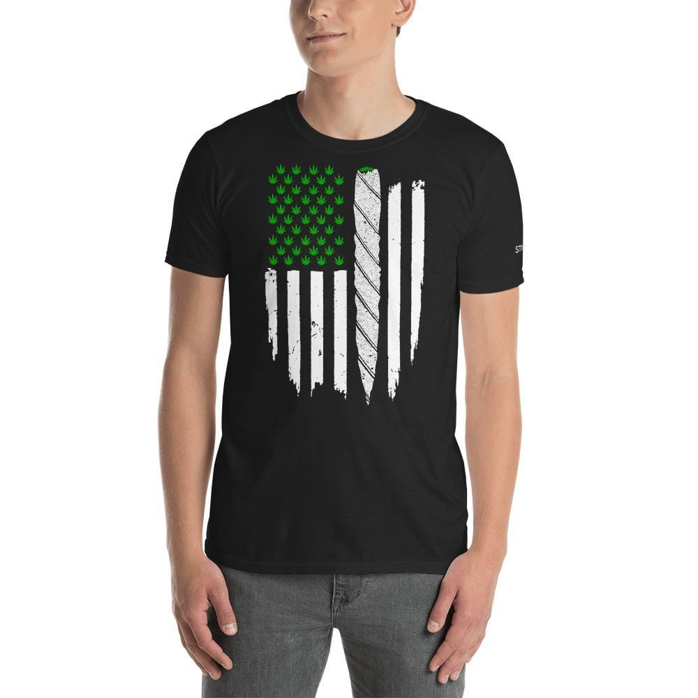 SMOKEA Grass Flag Unisex T-Shirt - SMOKEA