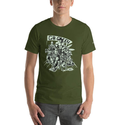 SMOKEA Green Heroes Short-Sleeve Unisex T-Shirt - SMOKEA®