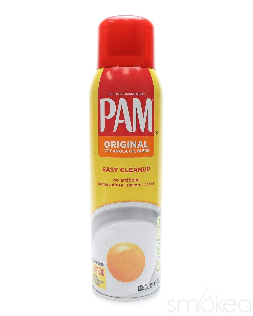 SMOKEA PAM 12oz Cooking Spray Stash Can