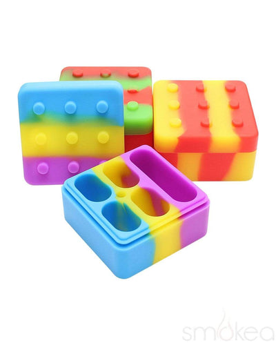 SMOKEA Silicone Non Stick Medium Lego Storage Container