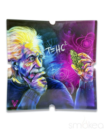 "V Syndicate ""Einstein Classic"" Glass Ashtray"