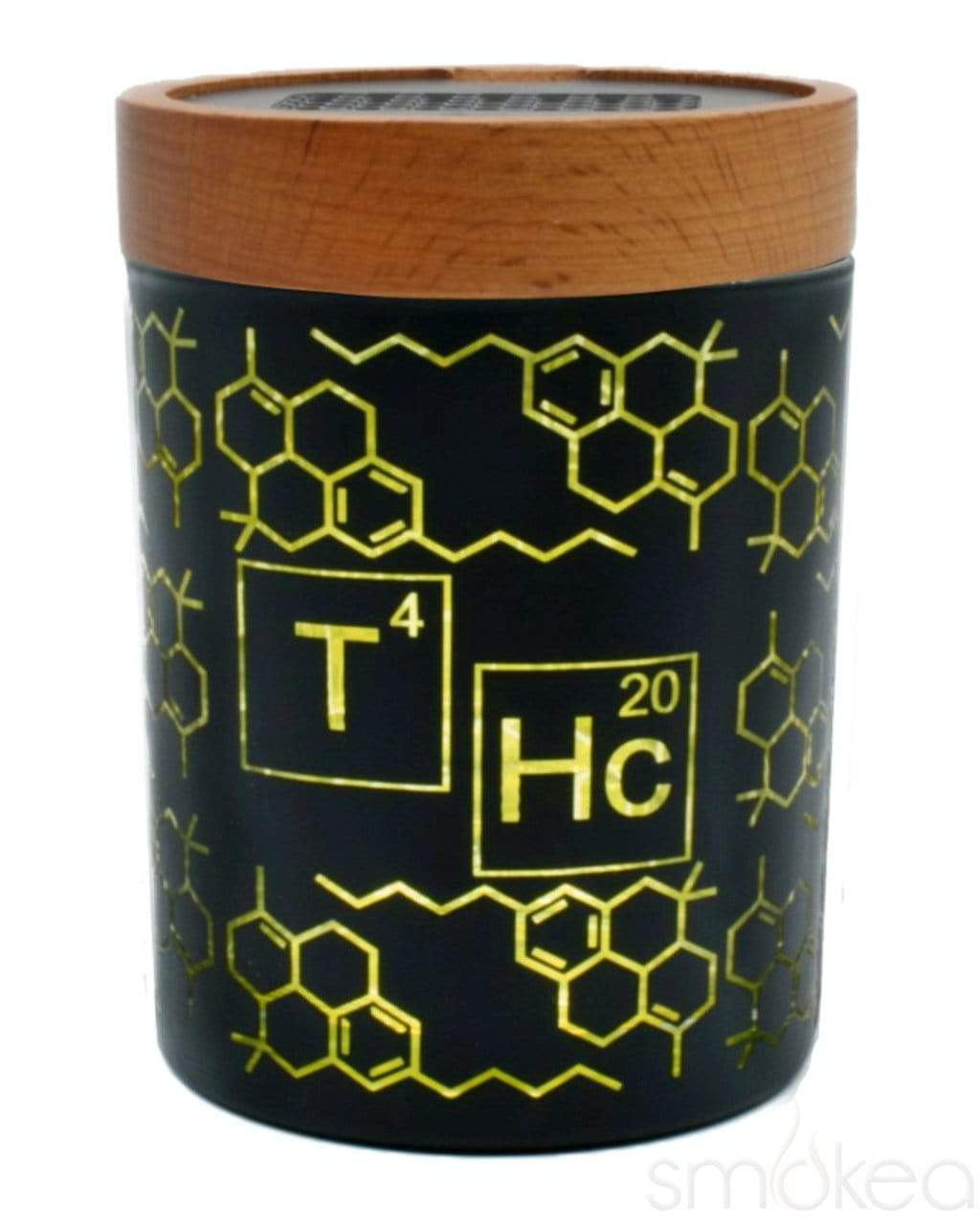 "V Syndicate ""THC Elemental Yellow"" SmartStash Jar Medium"