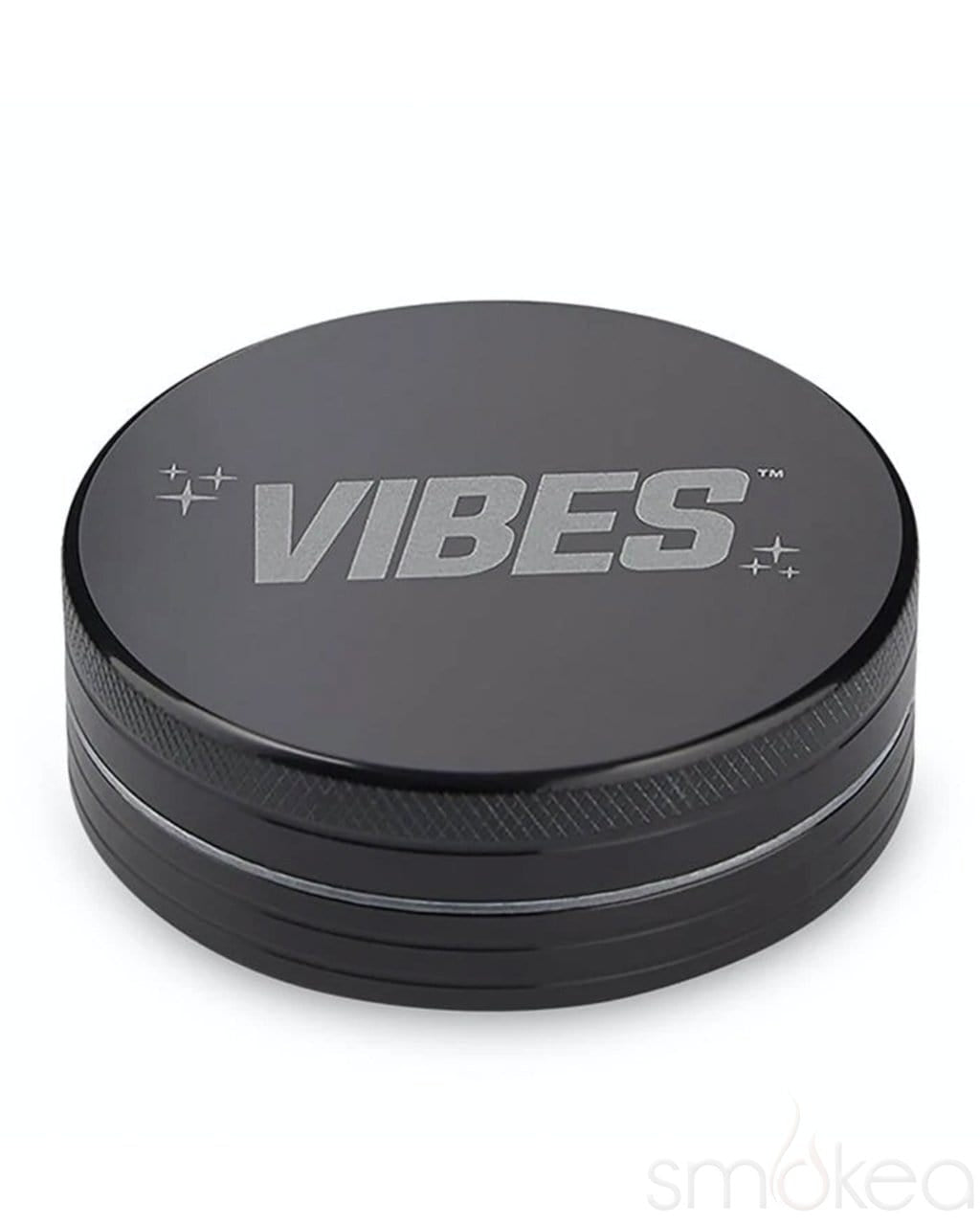 Vibes x Aerospaced Aluminum 2-Piece Grinder Black