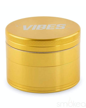 Vibes x Aerospaced Aluminum 4-Piece Grinder Gold