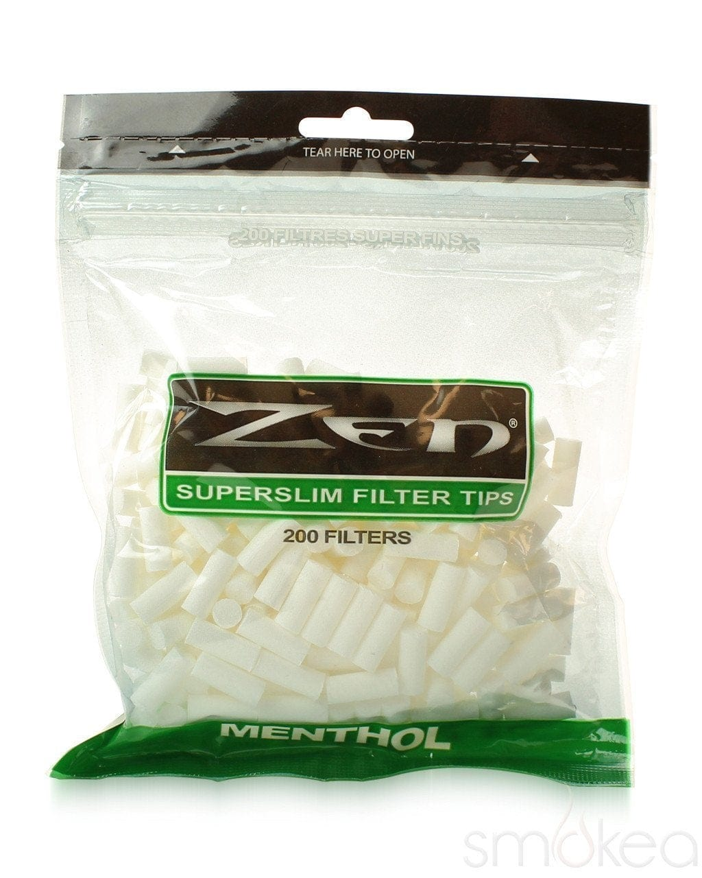 Zen Superslim Menthol Filter Tips (200-Pack) - SMOKEA