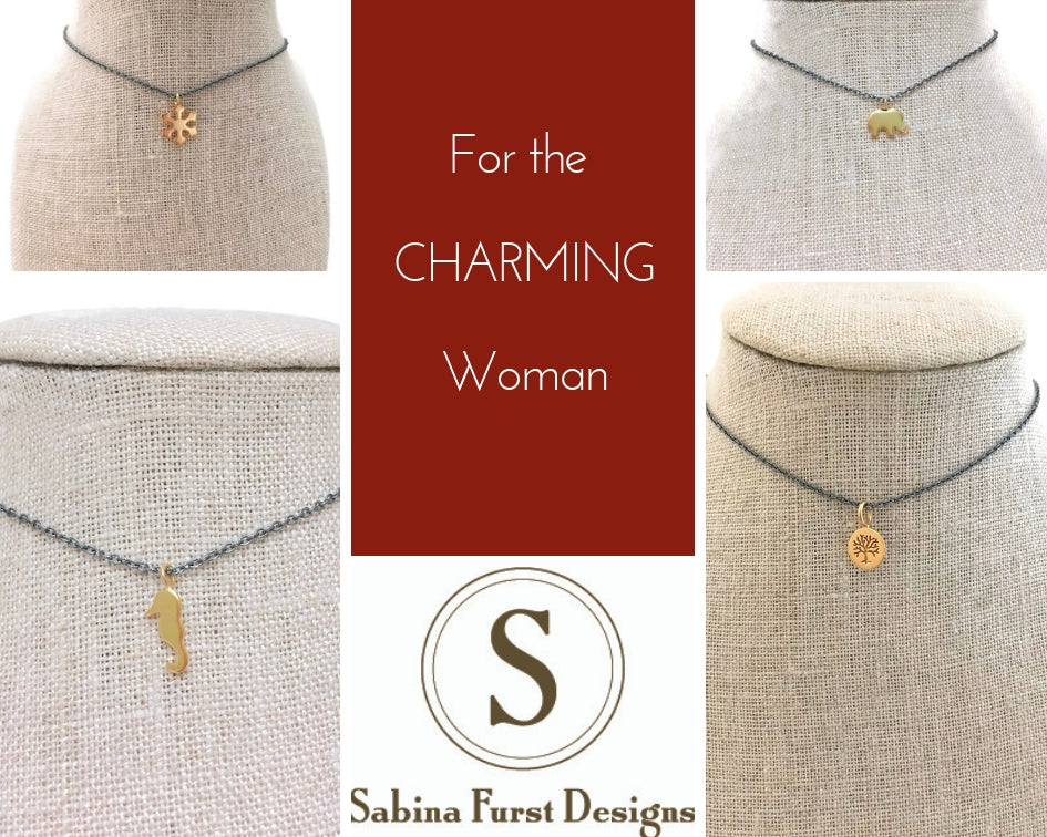 Sausalito Charm Necklaces