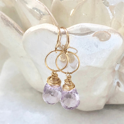 Nested Gem Earrings