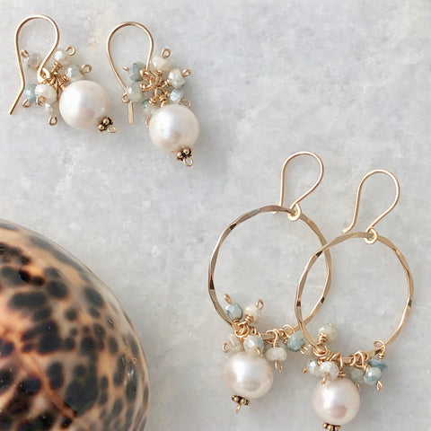 Pearls and Sapphire clusters