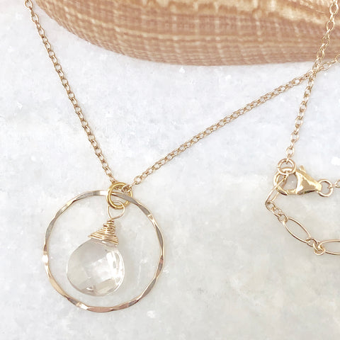 Clarity Circle Necklace