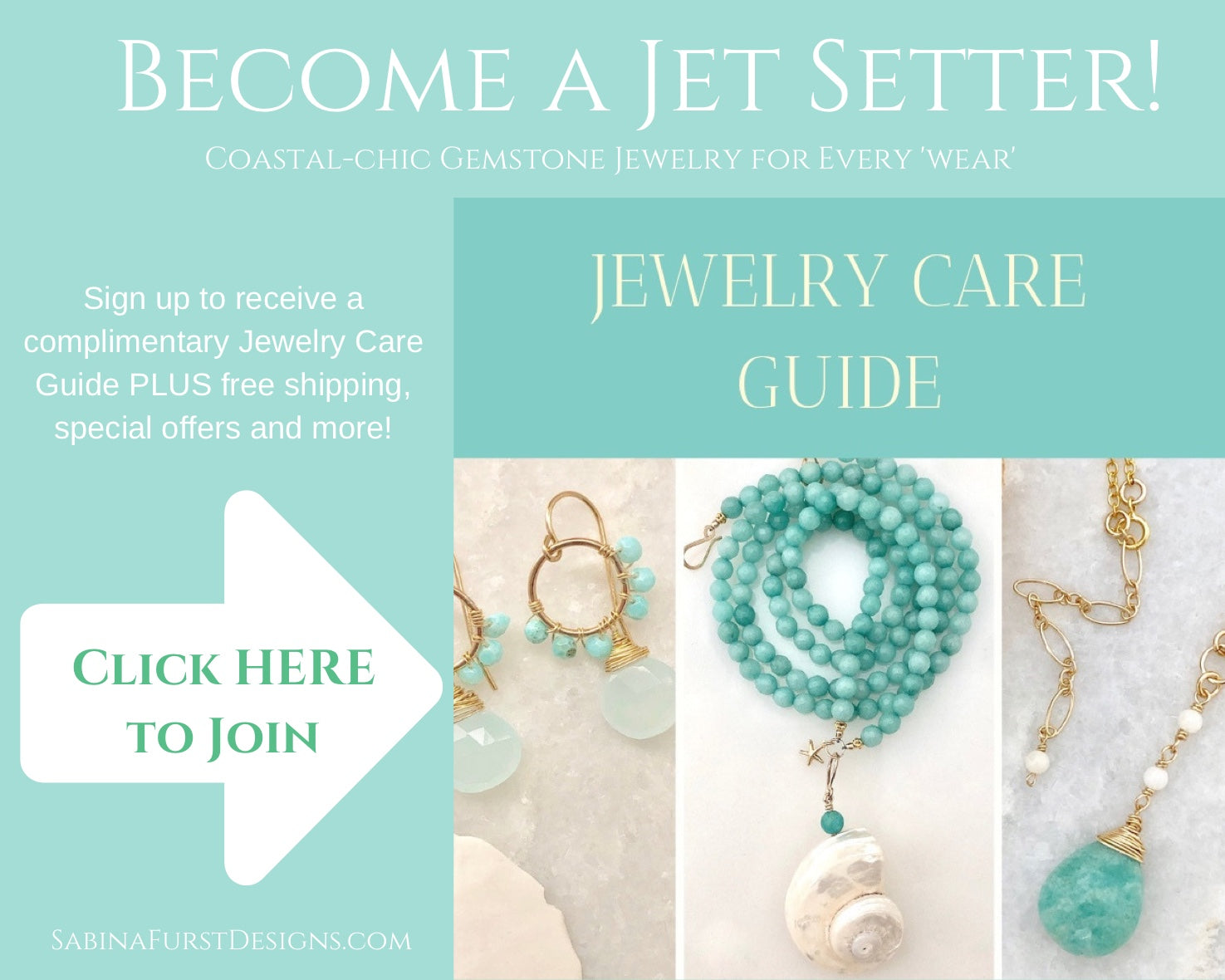 Jewelry Care Guide Sign Up