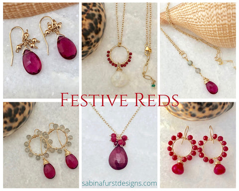 Festive Red Jewelry