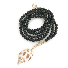 Versa Mala - blue tigers eye