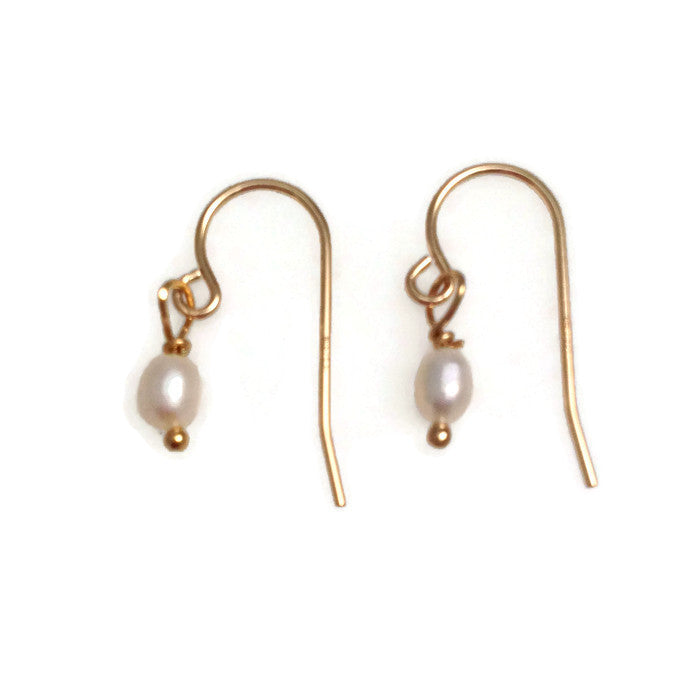Tahiti Tiny Pearl Earrings