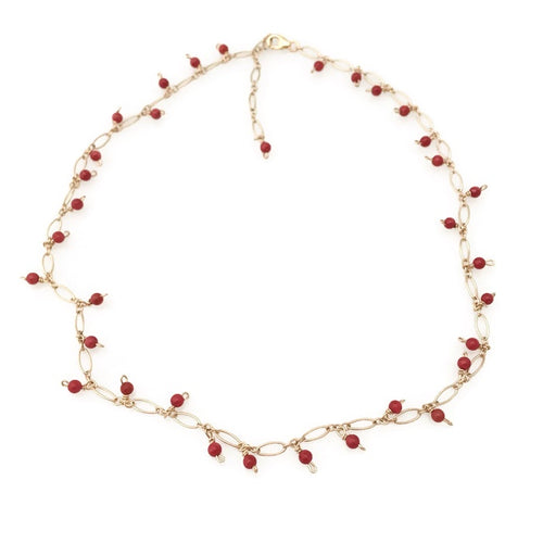 Aspen Cranberries Necklace