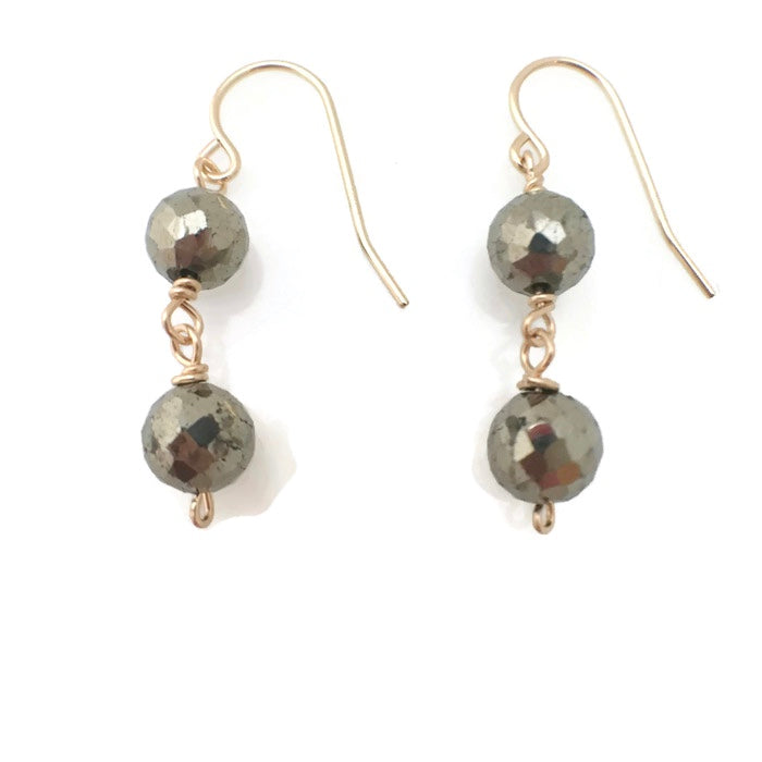 Tremblant Two Tiered Earrings