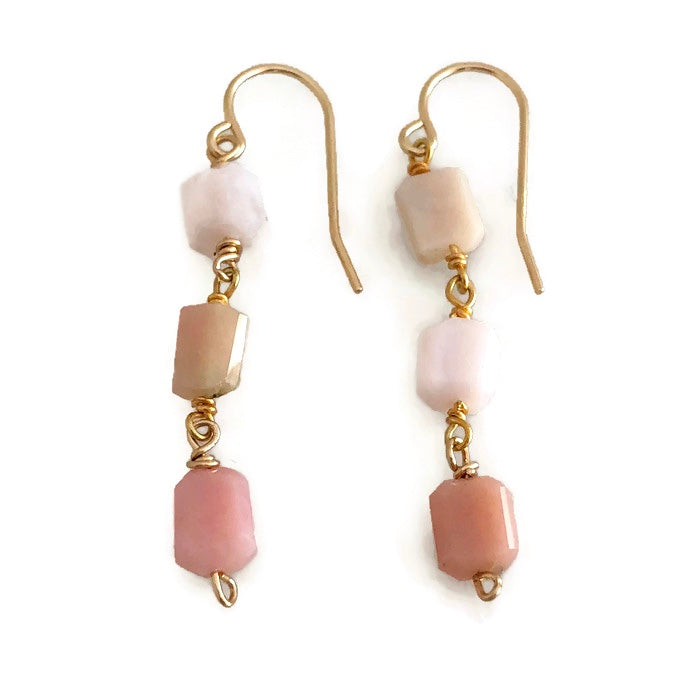 Harbour Island Triple Nugget Earrings