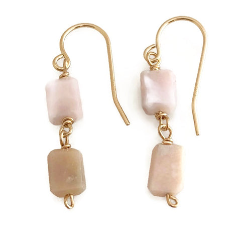 Harbour Island Double Nugget Earrings