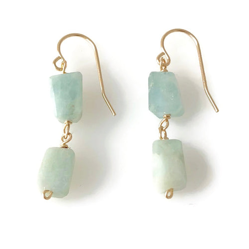 Osterville Double Nugget Earrings
