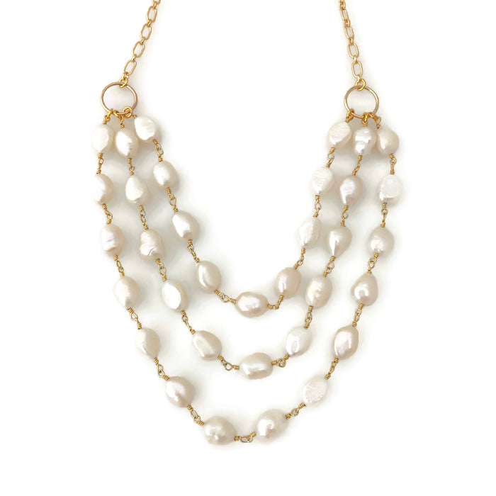 Tahiti Pearl Triple Necklace