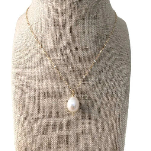 Tahiti Simple Pearl Necklace
