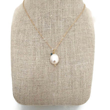 Monaco Pearl & Diamond Necklace