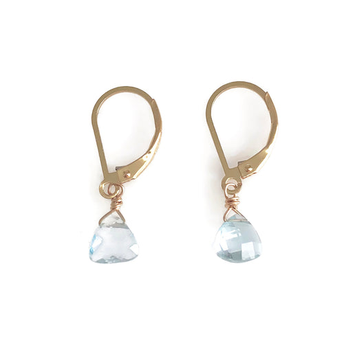 Monaco Topaz Earrings