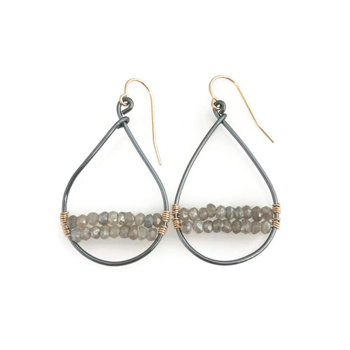 Sausalito Woven Hoop Earrings