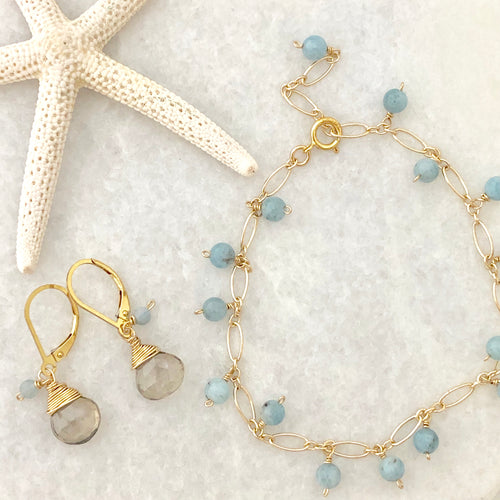 Newport Gift Set ~ bracelet & earrings