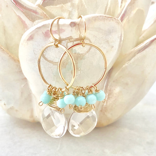 Captiva Hoop Earrings - medium