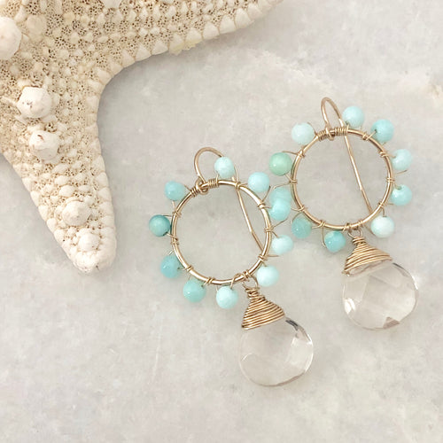 Captiva Daisy Earrings
