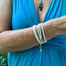 Gemstone Wrap Bracelet - Two in One
