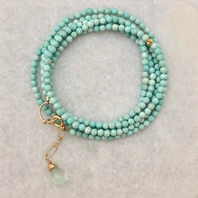 Captiva Two in One ~ dainty gemstone wrap