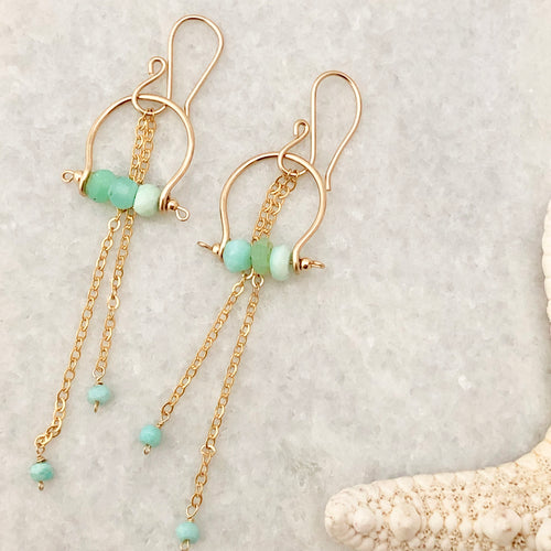 Santorini Dangle Earrings