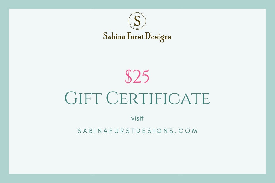 Gift Card ~ $25