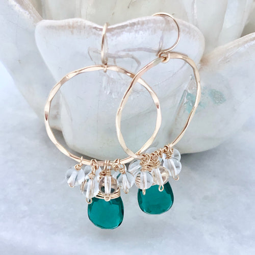 Aegean Hoop Earrings