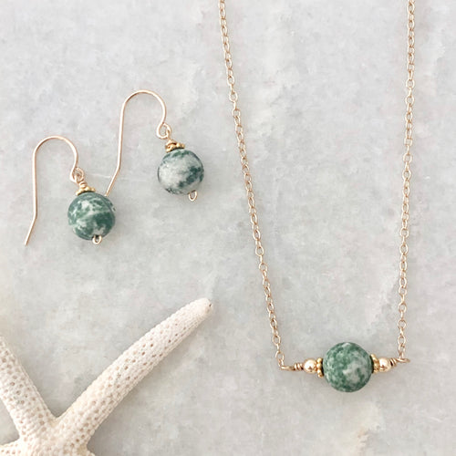 Wellfleet Necklace & Earring Gift Set